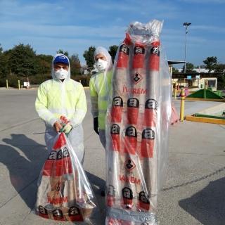 Op de recyclageparken moet je asbest verplicht in verpakking aanbieden