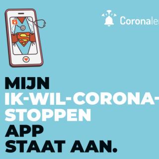 Afbeelding - ik wil corona stoppen app